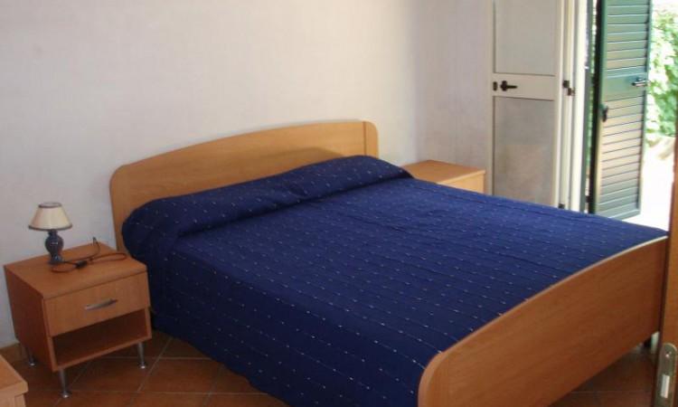 camera letto con veranda privata